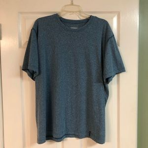 Men's Blue Heathered Columbia T-shirt